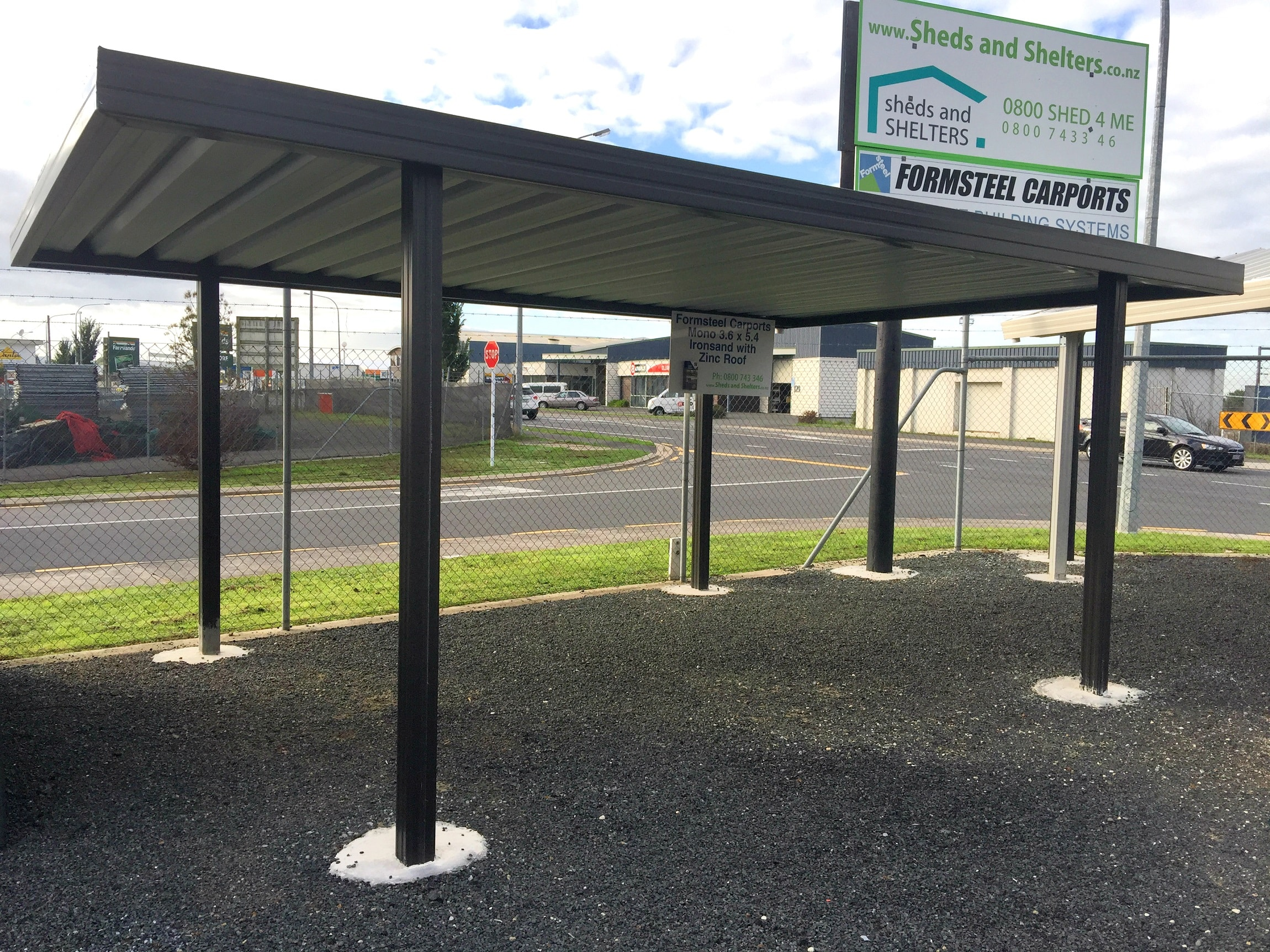 Formsteel Carports Sheds And Shelters