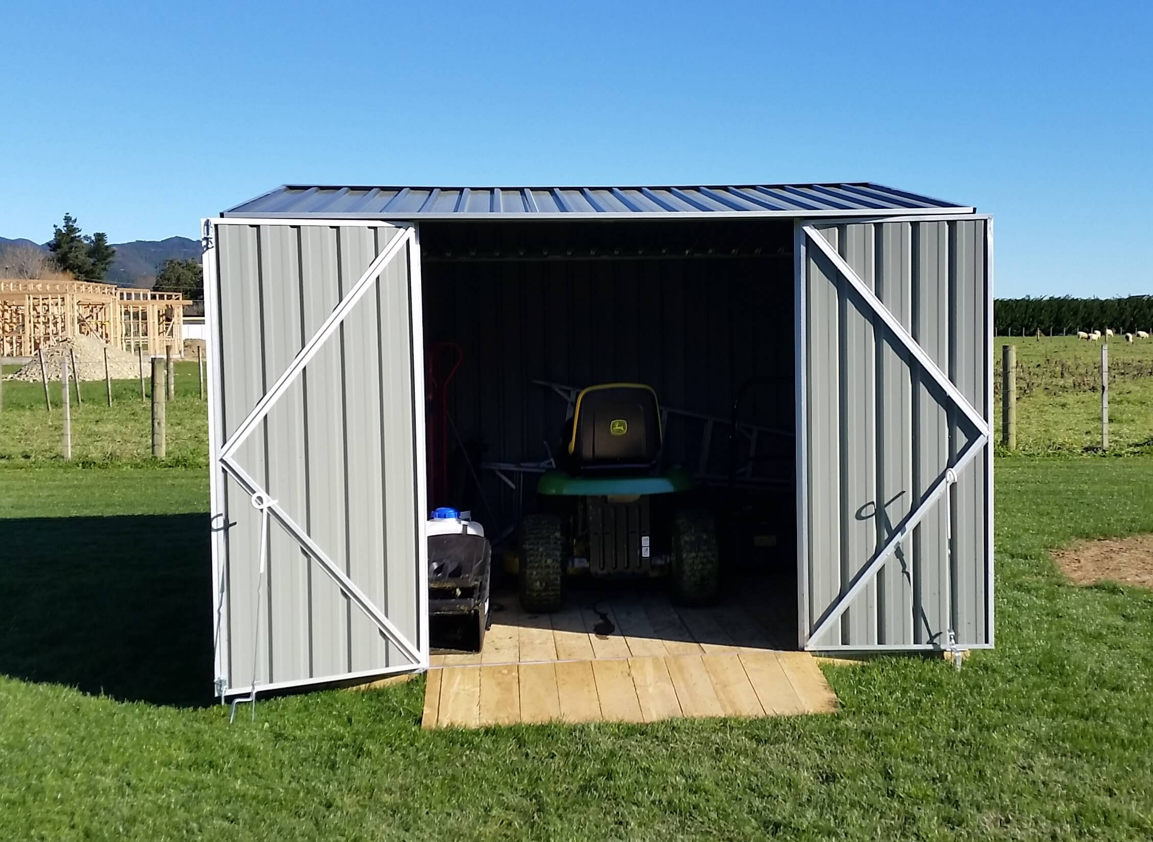 Galvo Shed and Assembly