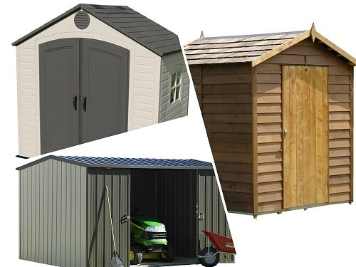 Garden Shed Design U2013 What Material Is Best?