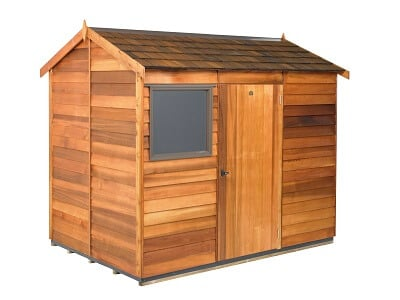 Cedar Wooden Shed - Logan