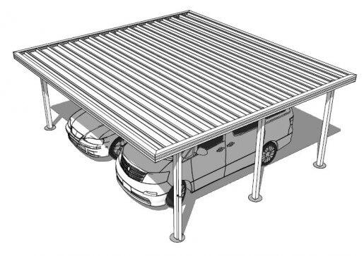 Formsteel Classic Double Carport