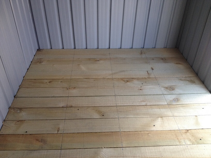 Garden shed foundations what is the best floor option for Garden shed floor ideas