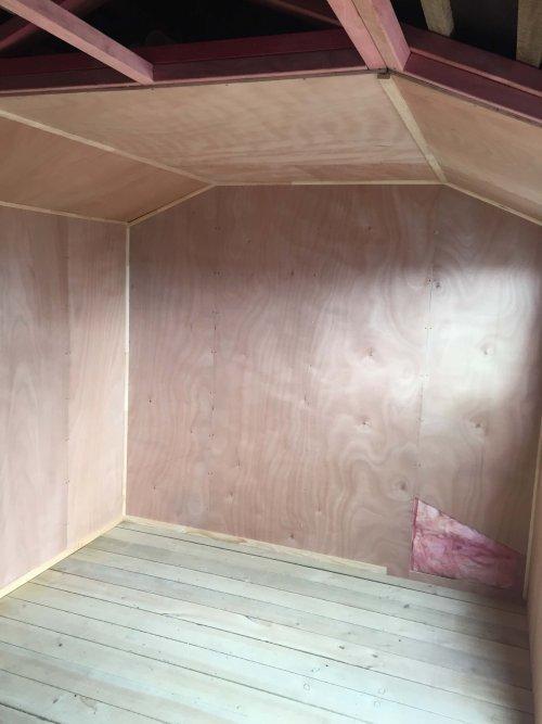 Cedar Cabin Lining